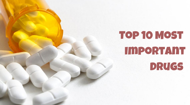Top 10 Most Important Drugs